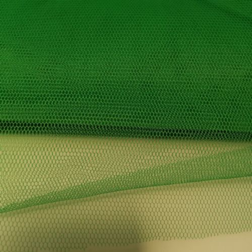 Emerald Honeycomb Tulle Fabric 54""